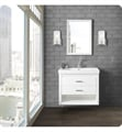 "Fairmont Designs 1517-WV3618 Studio One 36x18"" Wall Mount Vanity in Glossy White"