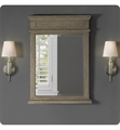 "Fairmont Designs 1535-M28 Oakhurst 28"" Mirror in Antique Grey"
