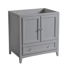 "Fresca FCB2030GR Oxford 30"" Grey Traditional Bathroom Cabinet"