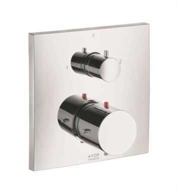 "Hansgrohe 10726001 Axor Starck X 6 3/4"" Thermostatic Trim with Volume Control and Diverter in Chrome"