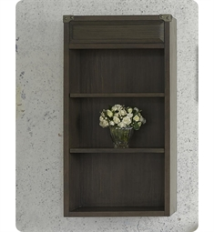 "Fairmont Designs 1401-HT2009 Toledo 20x9"" Hutch in Driftwood Gray"