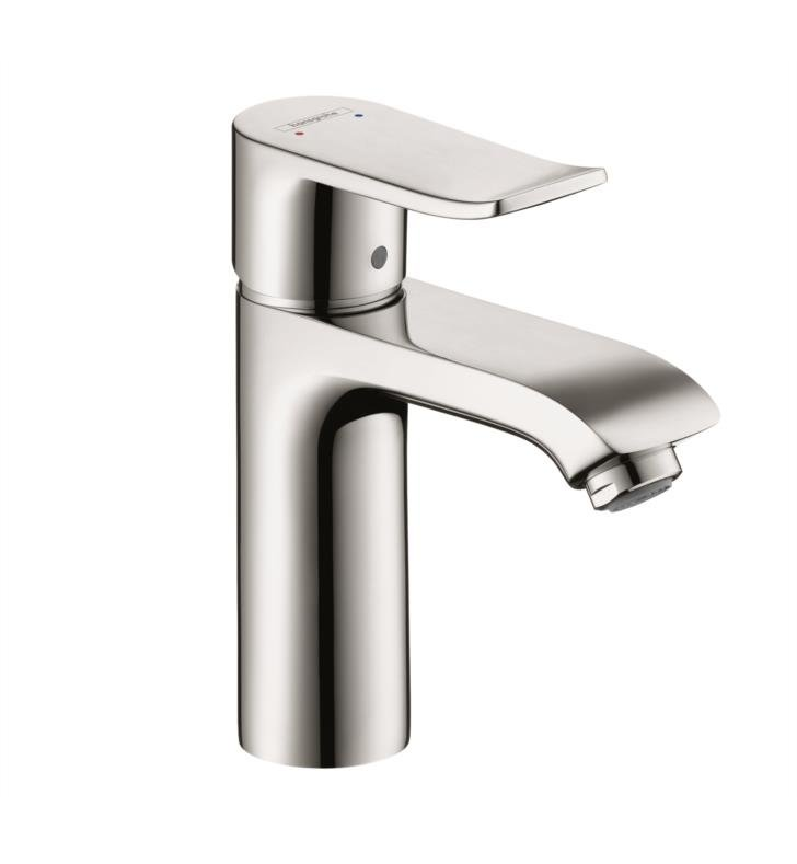"Hansgrohe 31121001 Metris 110 6"" Single Handle Deck Mounted Bathroom Faucet in Chrome"