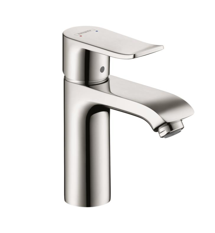 "Hansgrohe 31204001 Metris 110 6"" Single Handle Deck Mounted Bathroom Faucet in Chrome"