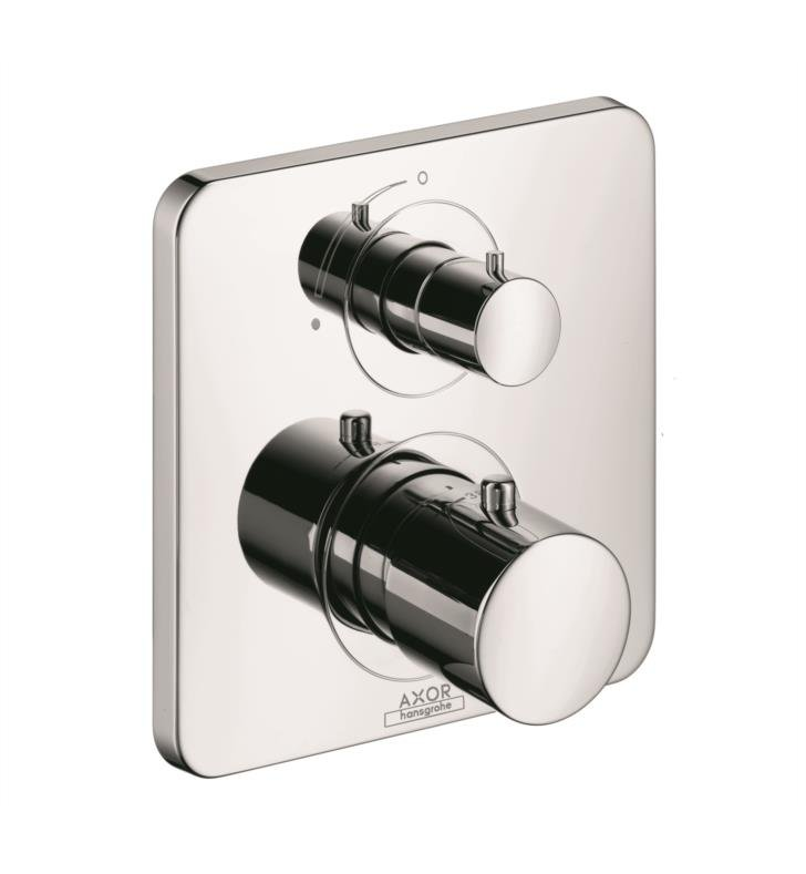 "Hansgrohe 34705 Axor Citterio M 6 3/4"" Thermostatic Trim with Volume Control"