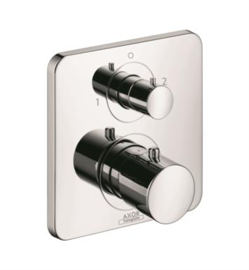 "Hansgrohe 34725821 Axor Citterio M 6 3/4"" Thermostatic Trim with Volume Control and Diverter With Finish: Brushed Nickel"