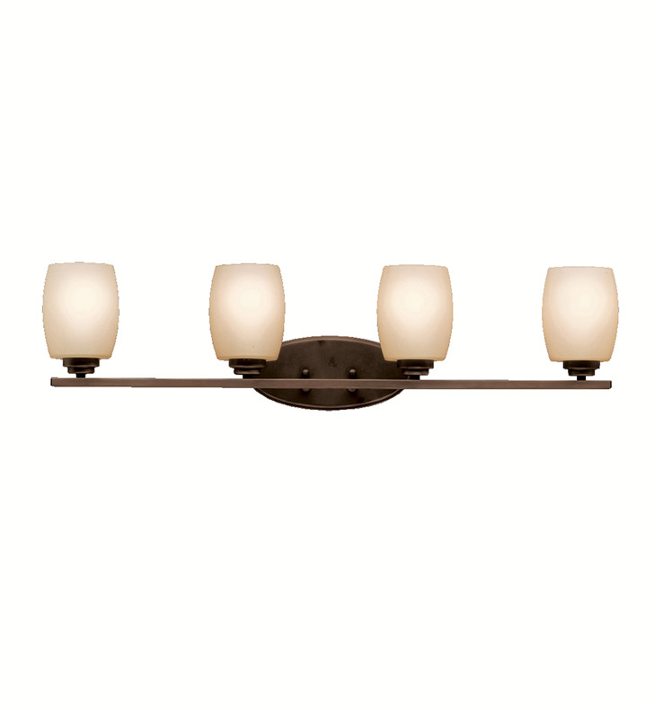 Kichler 5099OZ Eileen Collection Bath 4 Light in Olde Bronze