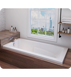 "Oceania ZI60 Zion 60"" Customizable Drop-In Rectangular Bathtub"