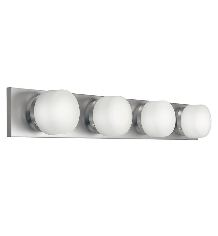Kichler 10464NI Bath 4 Light Fluorescent in Brushed Nickel