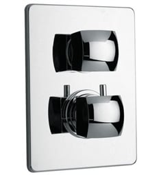 LaToscana 89CR691 Lady Thermostatic Shower Valve with 2 Way Diverter Volume Control in Chrome
