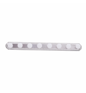 Kichler 5019TZ 8-Bulb Bathroom Strip Light With Finish: Tannery Bronze